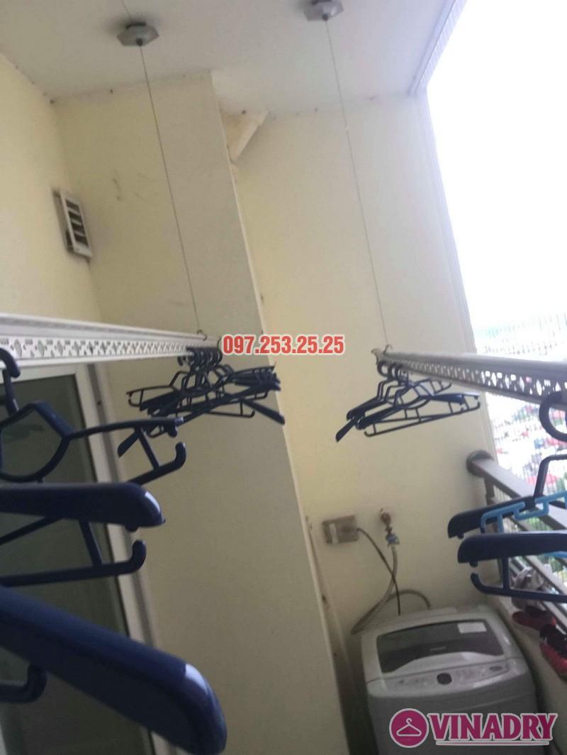 Sửa giàn phơi thông minh nhà chị Thanh, chung cư Nam Đô Complex, Hoàng Mai, Hà Nội - 04