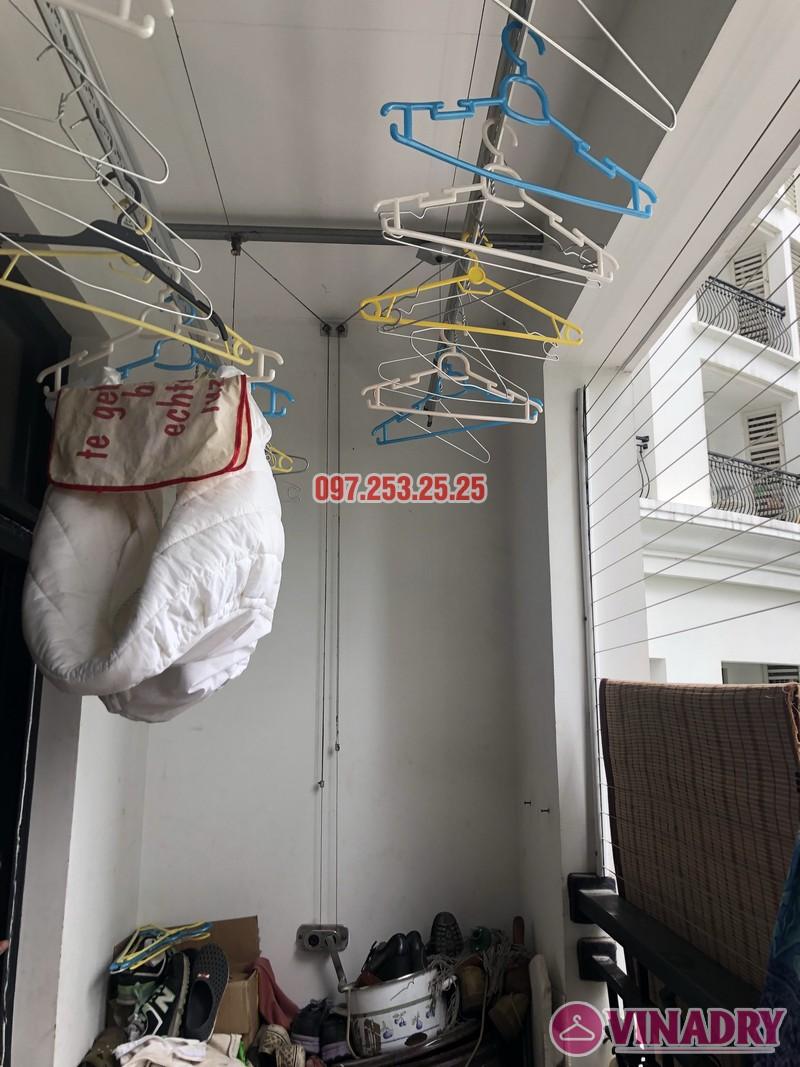 Sửa giàn phơi quần áo tại Thanh Xuân nhà anh Thắng, căn 2a21, tòa R4B Royal City - 01