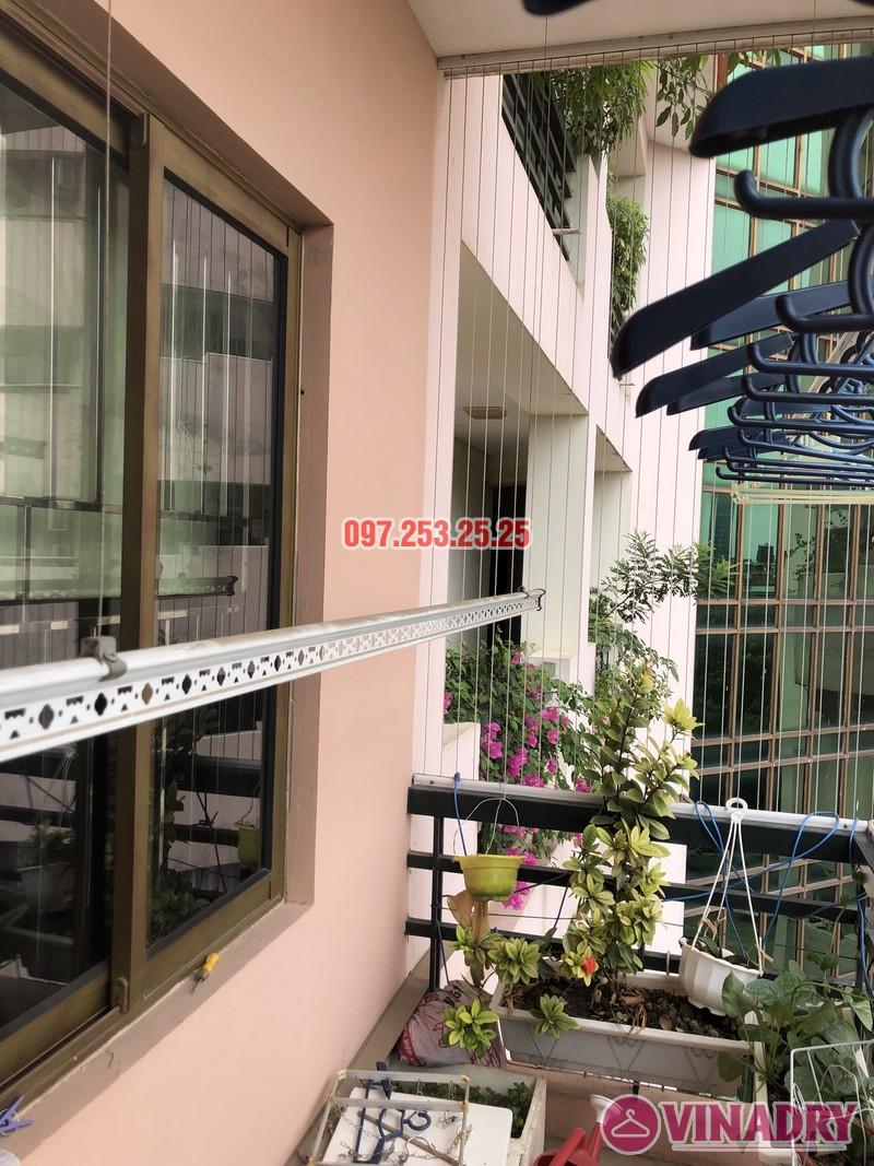 Sửa giàn phơi thông minh nhà chị Mai, căn 501 tòa B2 làng quốc tế Thăng Long, Cầu Giấy - 01