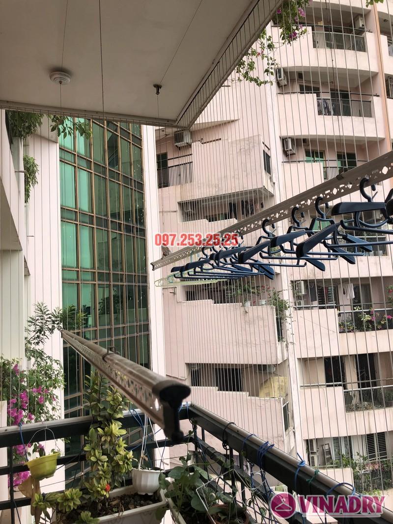 Sửa giàn phơi thông minh nhà chị Mai, căn 501 tòa B2 làng quốc tế Thăng Long, Cầu Giấy - 02