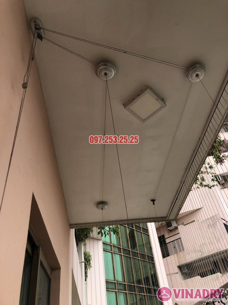 Sửa giàn phơi thông minh nhà chị Mai, căn 501 tòa B2 làng quốc tế Thăng Long, Cầu Giấy - 03