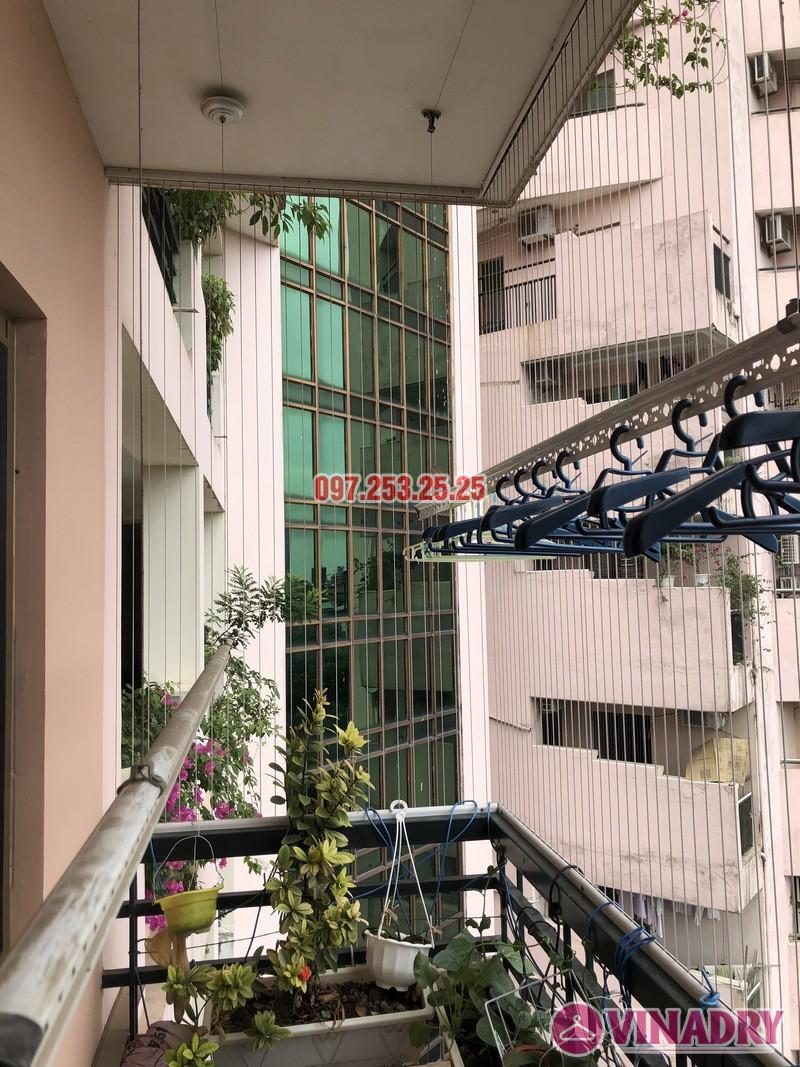 Sửa giàn phơi thông minh nhà chị Mai, căn 501 tòa B2 làng quốc tế Thăng Long, Cầu Giấy - 04