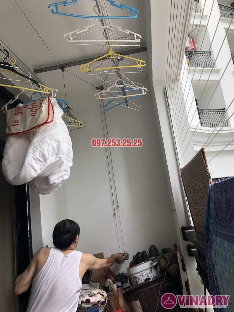 Sửa giàn phơi quần áo tại Thanh Xuân nhà anh Thắng, căn 2a21, tòa R4B Royal City - 05