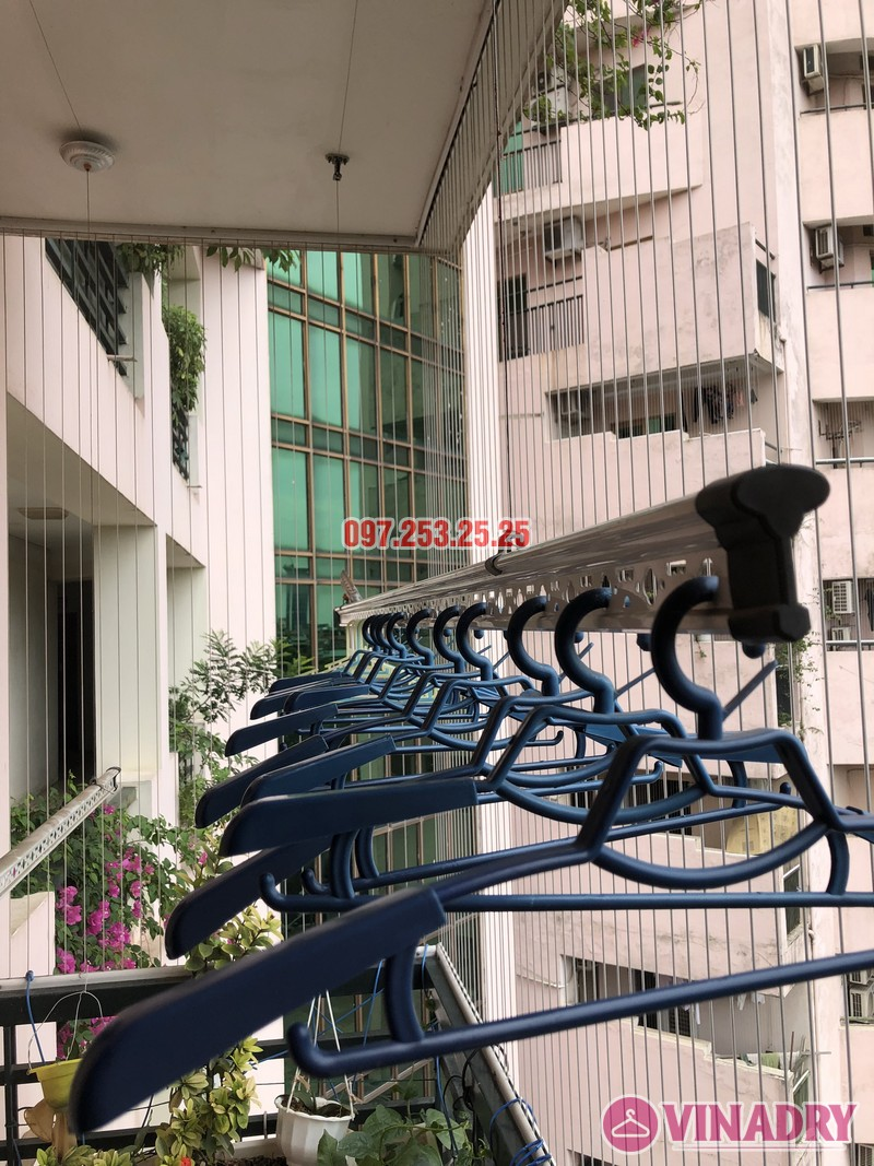Sửa giàn phơi thông minh nhà chị Mai, căn 501 tòa B2 làng quốc tế Thăng Long, Cầu Giấy - 05
