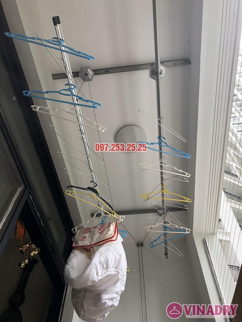 Sửa giàn phơi quần áo tại Thanh Xuân nhà anh Thắng, căn 2a21, tòa R4B Royal City - 06