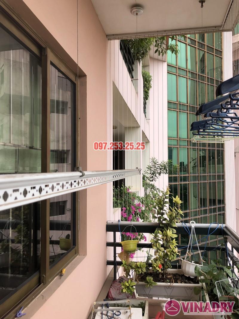 Sửa giàn phơi thông minh nhà chị Mai, căn 501 tòa B2 làng quốc tế Thăng Long, Cầu Giấy - 06
