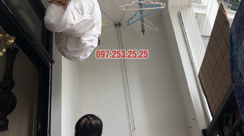 Sửa giàn phơi quần áo tại Thanh Xuân nhà anh Thắng, căn 2a21, tòa R4B Royal City - 07