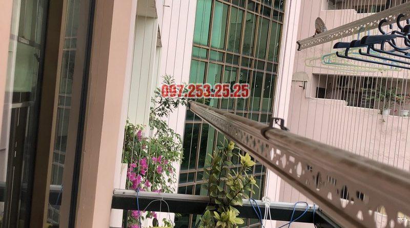 Sửa giàn phơi thông minh nhà chị Mai, căn 501 tòa B2 làng quốc tế Thăng Long, Cầu Giấy - 07