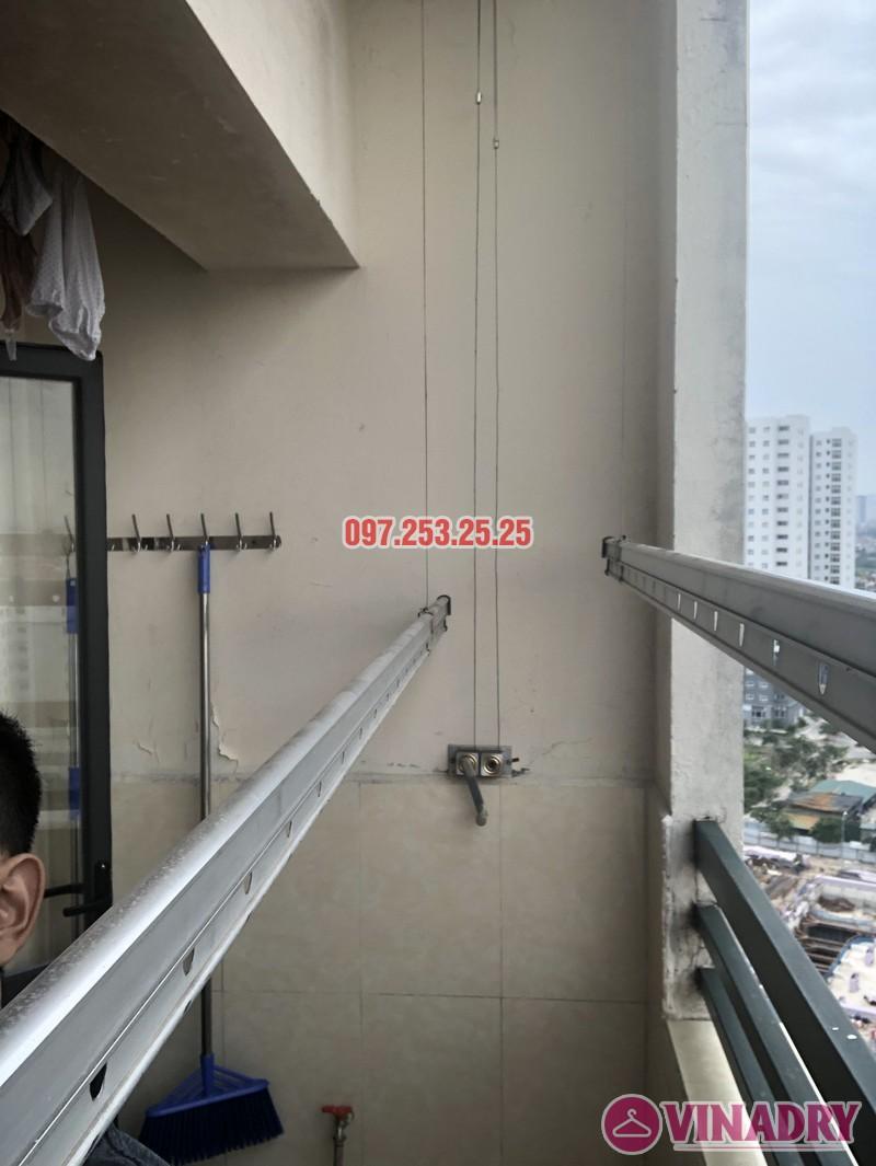 Sửa giàn phơi thông minh tại Hoàng Mai, nhà chị Thơm, tòa OCT1, Đơn Nguyên 1, KĐT Bắc Linh Đàm- 01