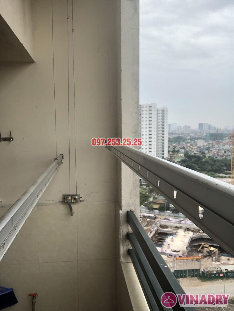 Sửa giàn phơi thông minh tại Hoàng Mai, nhà chị Thơm, tòa OCT1, Đơn Nguyên 1, KĐT Bắc Linh Đàm- 02