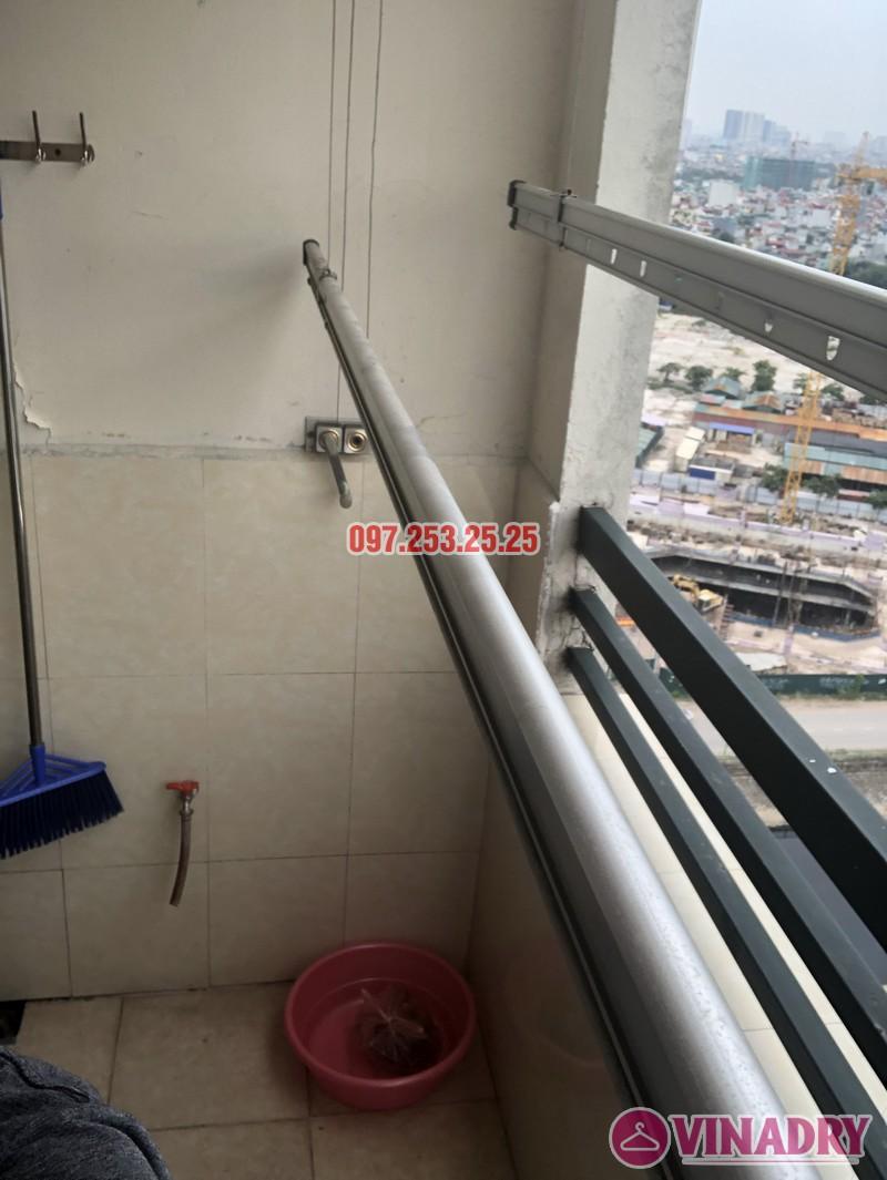 Sửa giàn phơi thông minh tại Hoàng Mai, nhà chị Thơm, tòa OCT1, Đơn Nguyên 1, KĐT Bắc Linh Đàm- 04