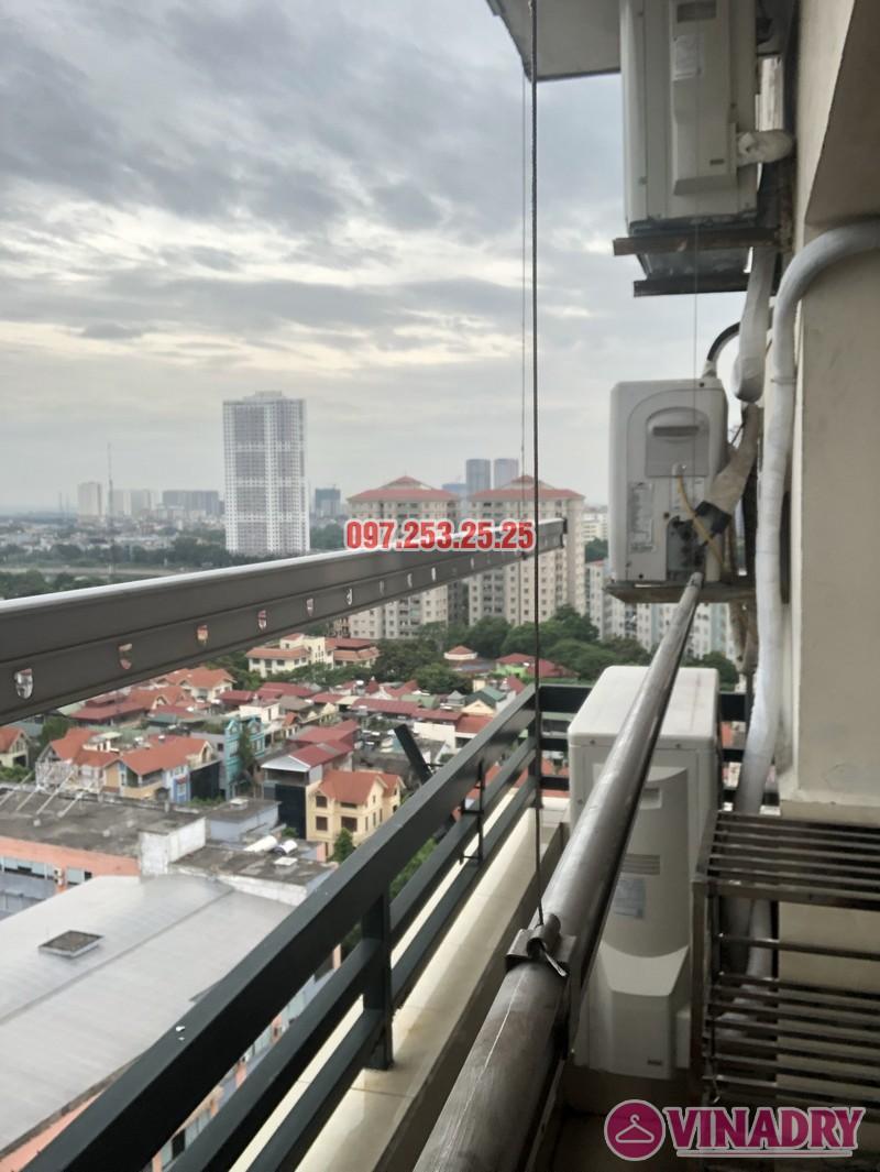Sửa giàn phơi thông minh tại Hoàng Mai, nhà chị Thơm, tòa OCT1, Đơn Nguyên 1, KĐT Bắc Linh Đàm- 06