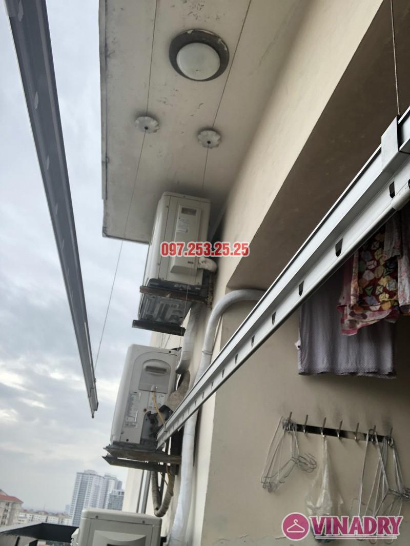Sửa giàn phơi thông minh tại Hoàng Mai, nhà chị Thơm, tòa OCT1, Đơn Nguyên 1, KĐT Bắc Linh Đàm- 09