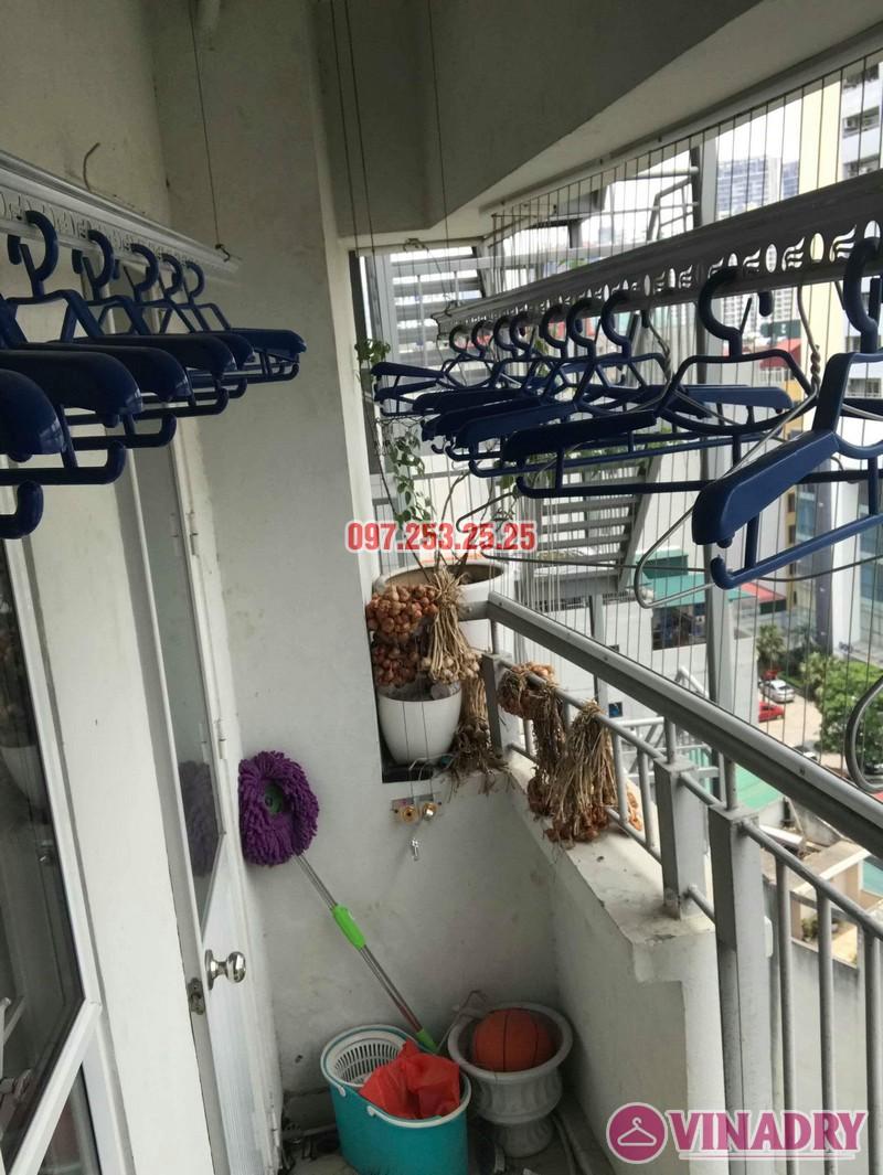 Sửa giàn phơi thông minh giá rẻ nhà chị Hảo, chung cư 7A Lê Đức Thọ, Cầu Giấy, Hà Nội - 02