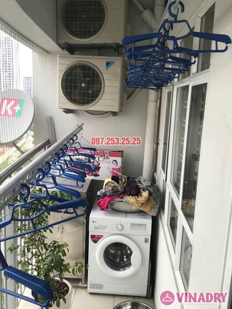 Sửa giàn phơi thông minh giá rẻ nhà chị Hảo, chung cư 7A Lê Đức Thọ, Cầu Giấy, Hà Nội - 05