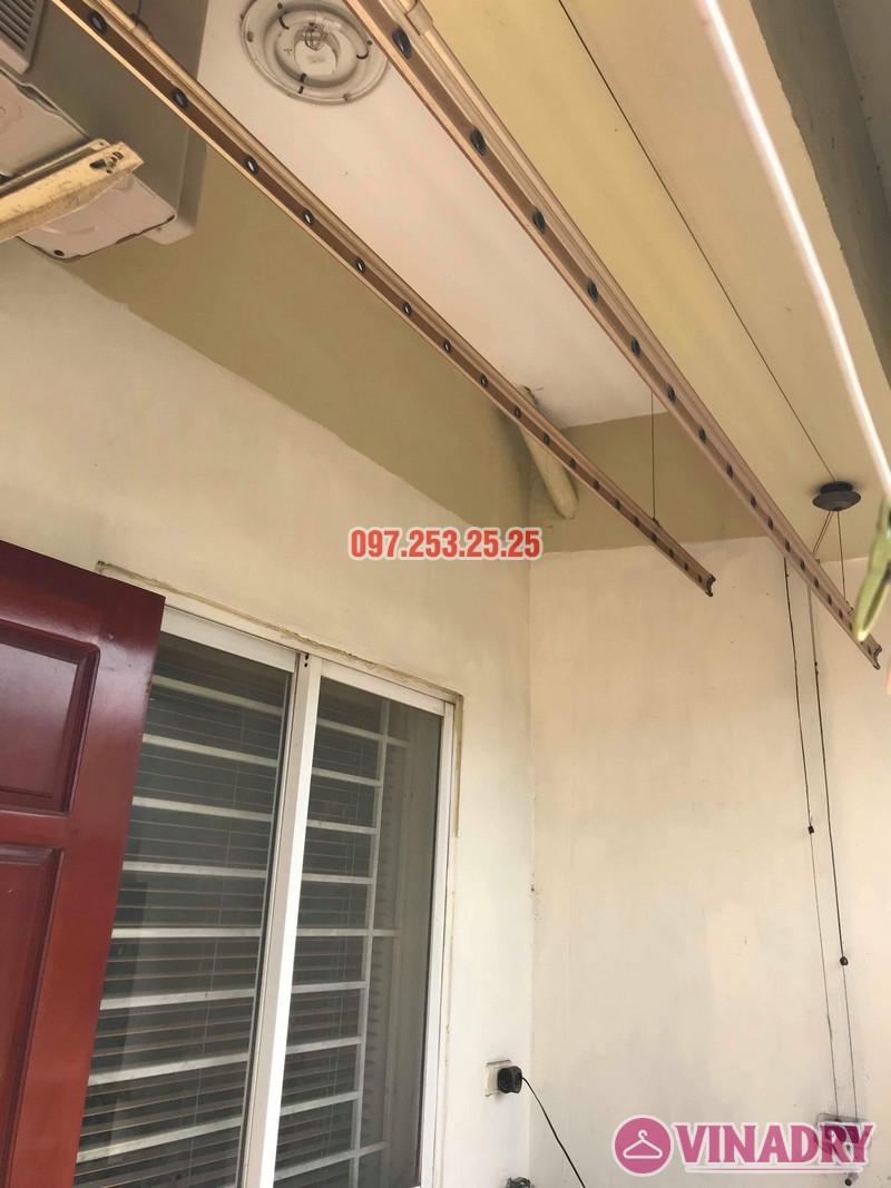 Sửa giàn phơi quần áo tại Hoàng Mai nhà chị Thơm, chung cư 282 Lĩnh Nam - 01