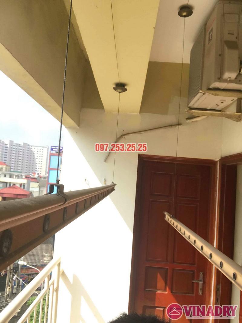 Sửa giàn phơi quần áo tại Hoàng Mai nhà chị Thơm, chung cư 282 Lĩnh Nam - 03