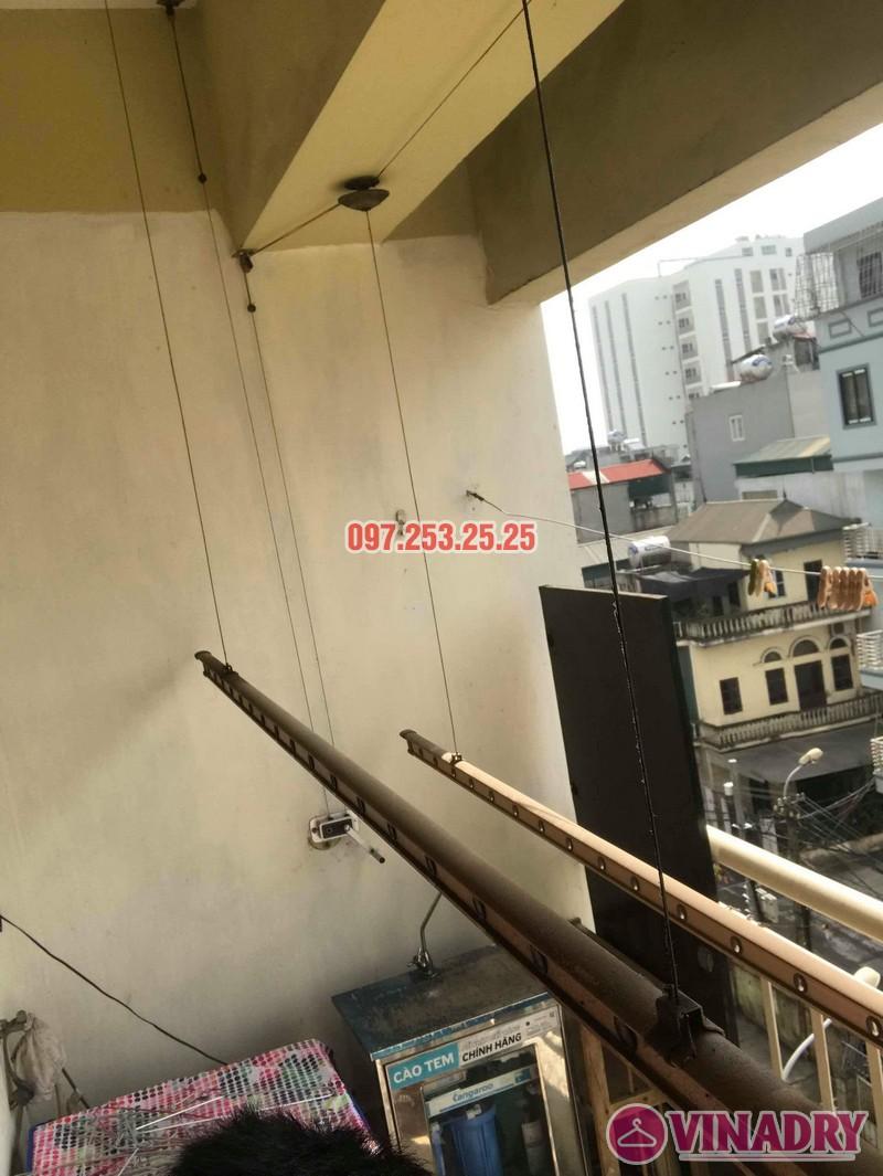 Sửa giàn phơi quần áo tại Hoàng Mai nhà chị Thơm, chung cư 282 Lĩnh Nam - 05