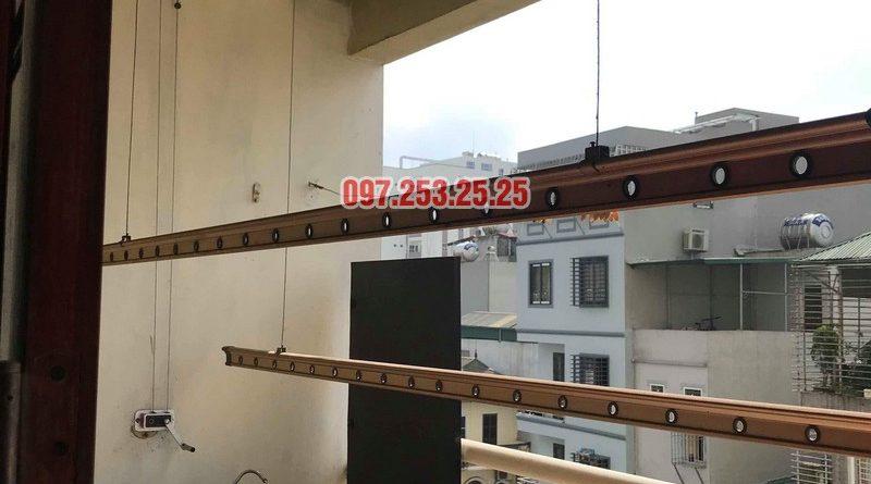 Sửa giàn phơi quần áo tại Hoàng Mai nhà chị Thơm, chung cư 282 Lĩnh Nam - 06