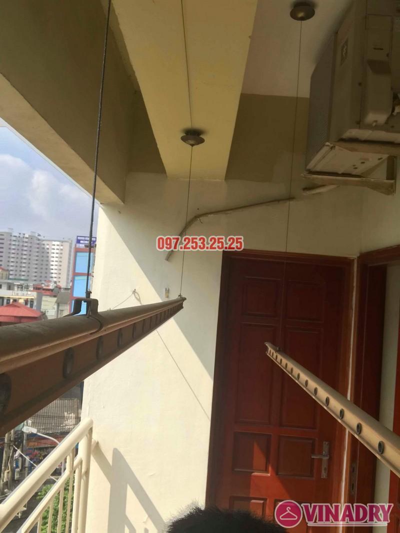 Sửa giàn phơi quần áo tại Hoàng Mai nhà chị Thơm, chung cư 282 Lĩnh Nam - 07