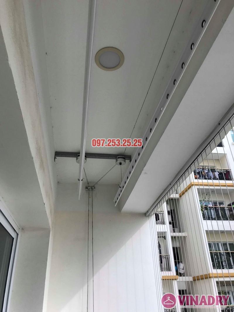 Sửa giàn phơi quần áo tại Hai Bà Trưng nhà chị Mai, chung cư Hòa Bình Green, 505 Minh Khai - 01