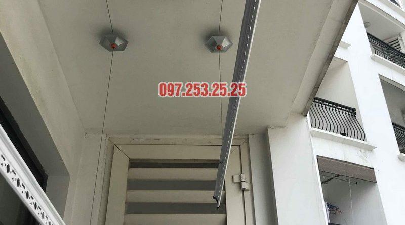 Sửa chữa giàn phơi thông minh tại tòa R4 Royal City nhà chị Ngọc - 04