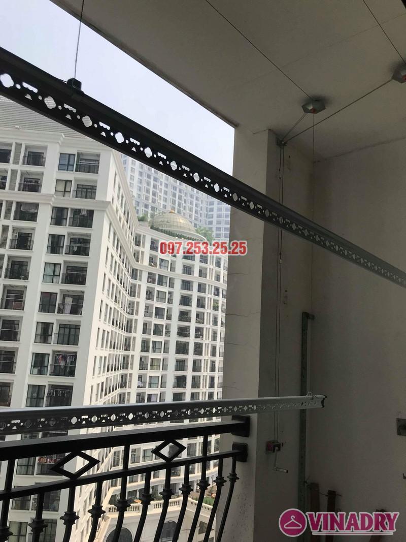 Sửa chữa giàn phơi thông minh tại tòa R4 Royal City nhà chị Ngọc - 06