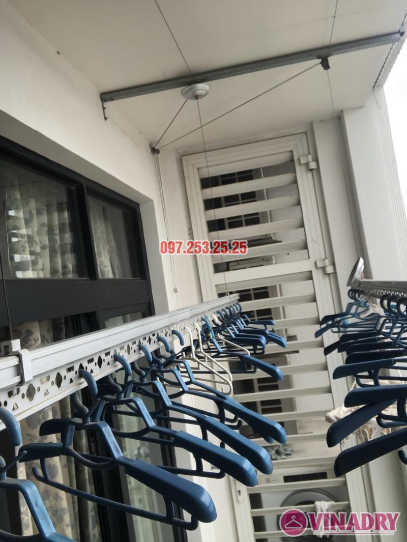 Sửa giàn phơi quần áo tại Royal City nhà chị Tình, Tòa R4B - 01