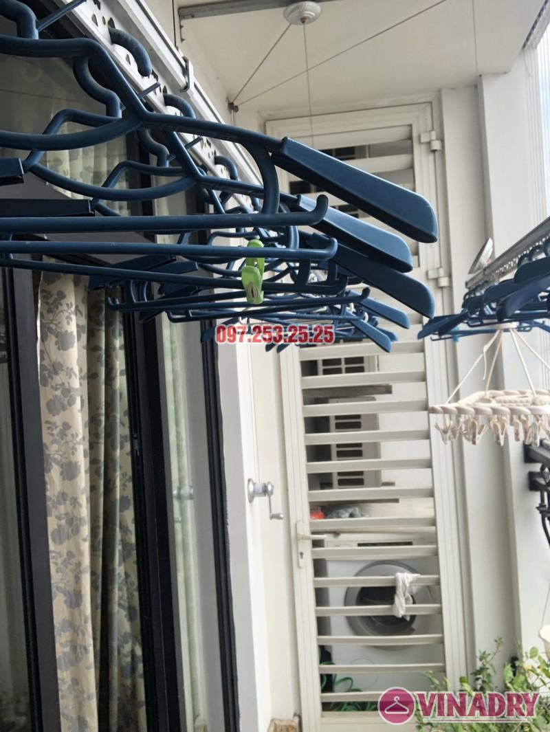 Sửa giàn phơi quần áo tại Royal City nhà chị Tình, Tòa R4B - 04