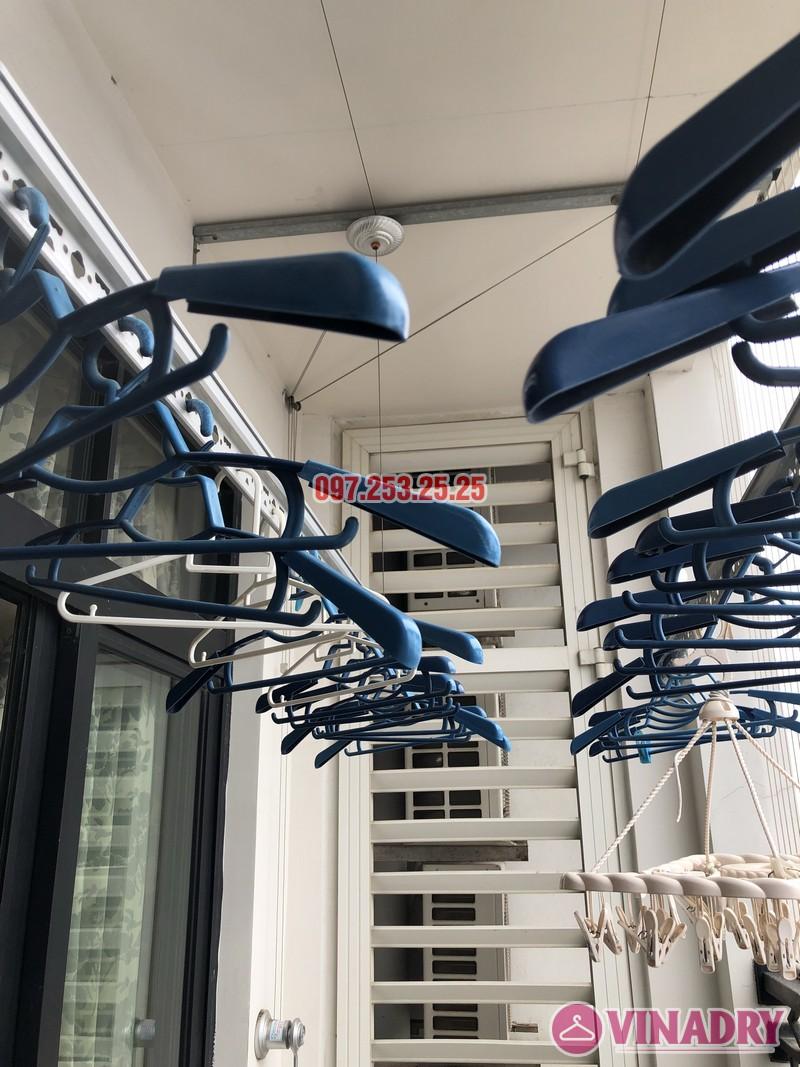 Sửa giàn phơi quần áo tại Royal City nhà chị Tình, Tòa R4B - 08