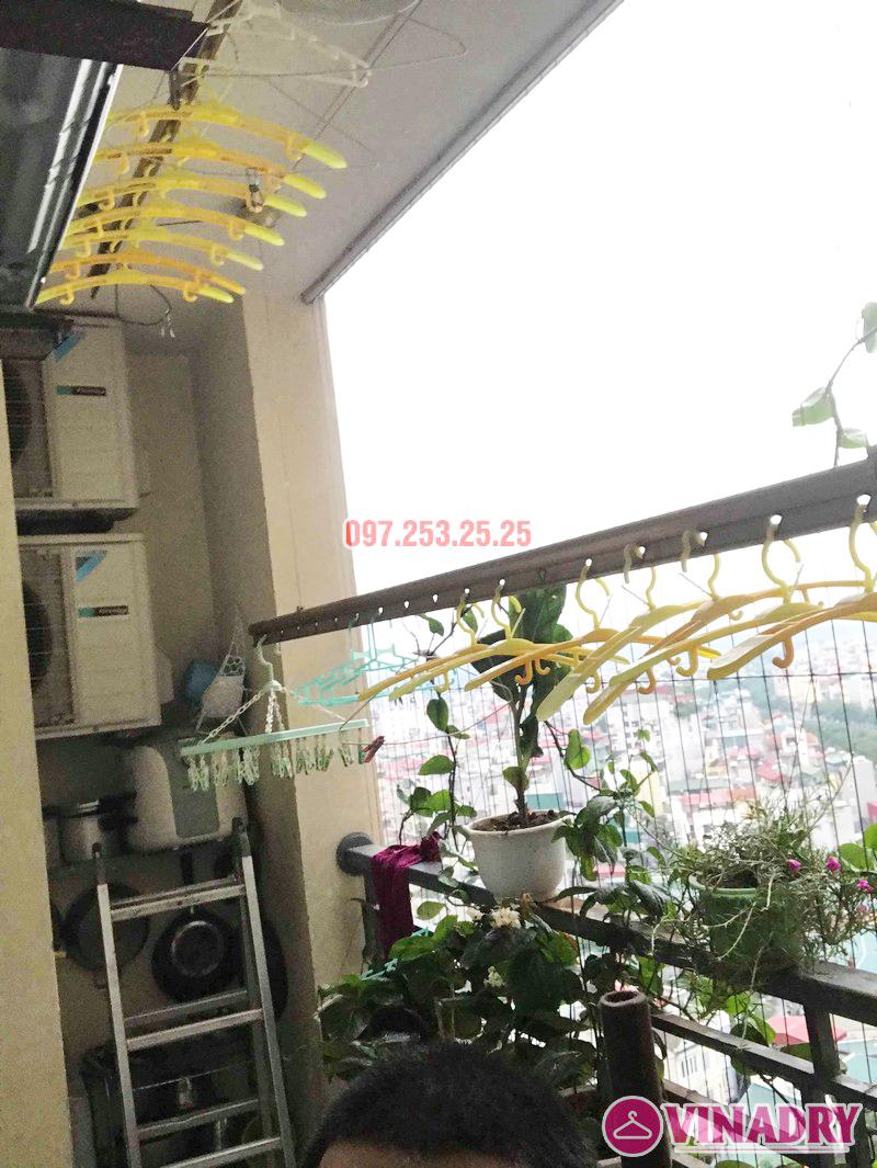 Sửa giàn phơi Hoàng Mai nhà chú Thắng, chung cư Nam Đô Complex, 609 Trương Định - 02