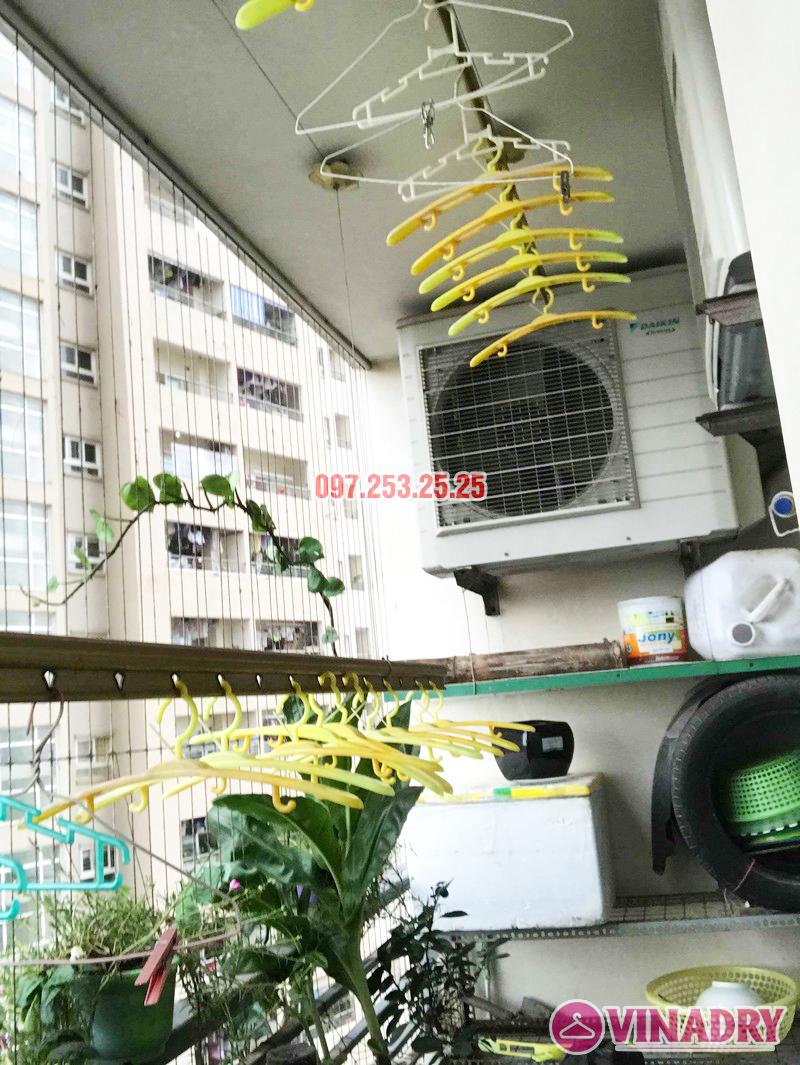 Sửa giàn phơi Hoàng Mai nhà chú Thắng, chung cư Nam Đô Complex, 609 Trương Định - 03