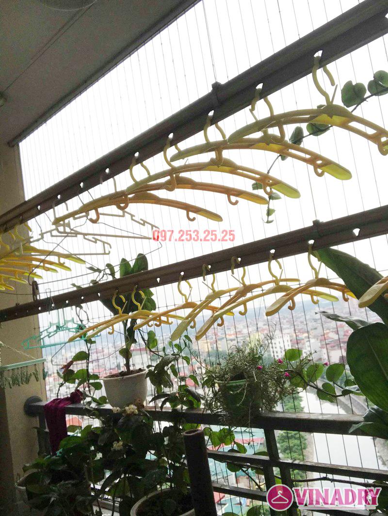 Sửa giàn phơi Hoàng Mai nhà chú Thắng, chung cư Nam Đô Complex, 609 Trương Định - 04