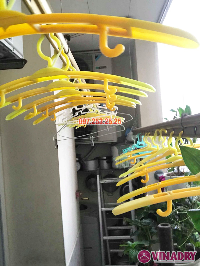 Sửa giàn phơi Hoàng Mai nhà chú Thắng, chung cư Nam Đô Complex, 609 Trương Định - 05