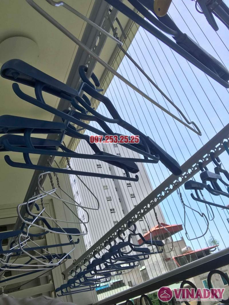 Sửa giàn phơi thông minh Hòa Phát nhà anh Tỉnh, Tòa T7, Times City - 07