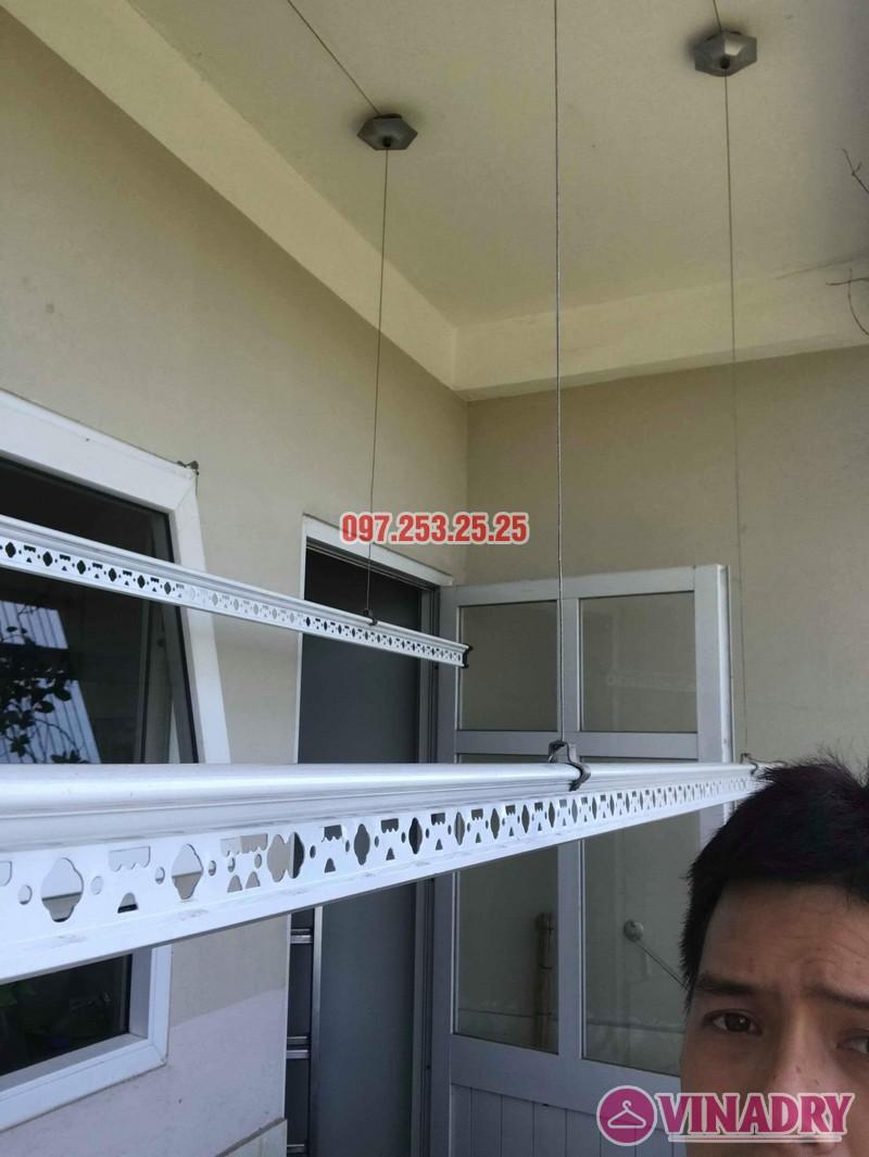 Sửa giàn phơi thông minh Long Biên nhà chị Hồng, tòa CT2A Thạch Bàn - 01