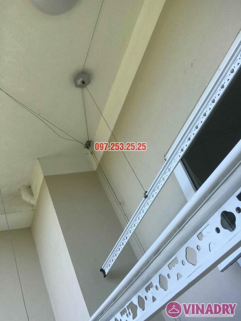 Sửa giàn phơi thông minh Long Biên nhà chị Hồng, tòa CT2A Thạch Bàn - 03