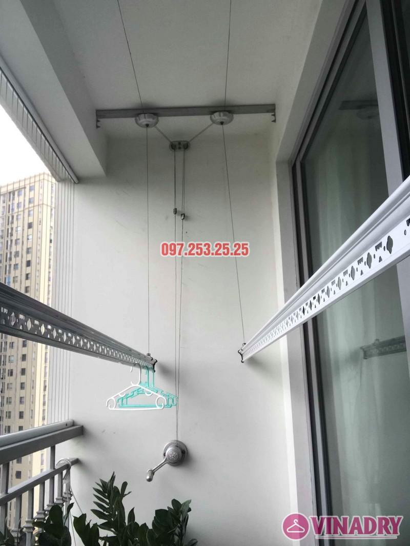 Sửa giàn phơi quần áo Times City nhà anh Cảnh, Tòa T9 - 01