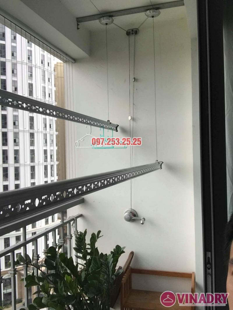 Sửa giàn phơi quần áo Times City nhà anh Cảnh, Tòa T9 - 02