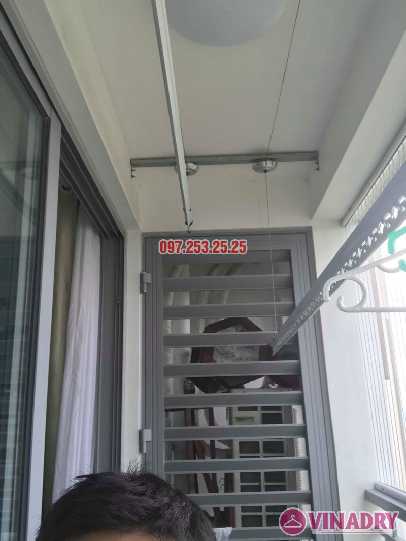 Sửa giàn phơi quần áo Times City nhà anh Cảnh, Tòa T9 - 04