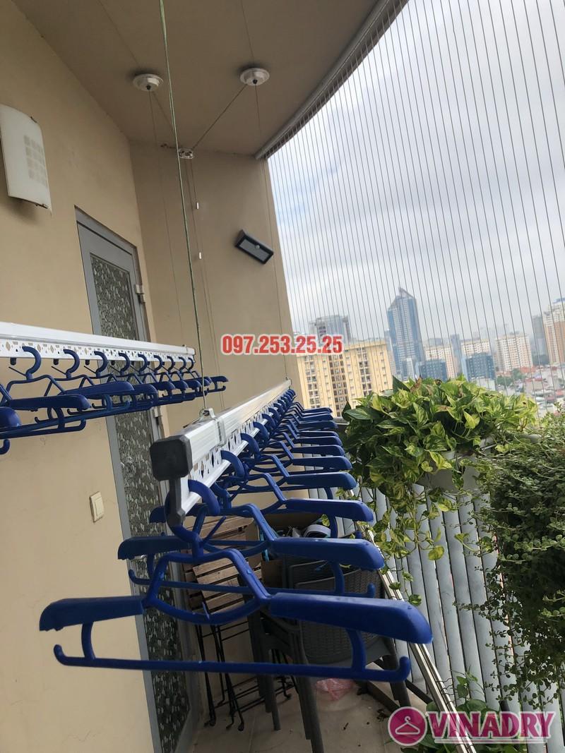 Lắp giàn phơi Hòa Phát Star nhà anh Minh, căn 1610, tòa B chung cư Skycity 88 Láng Hạ-01