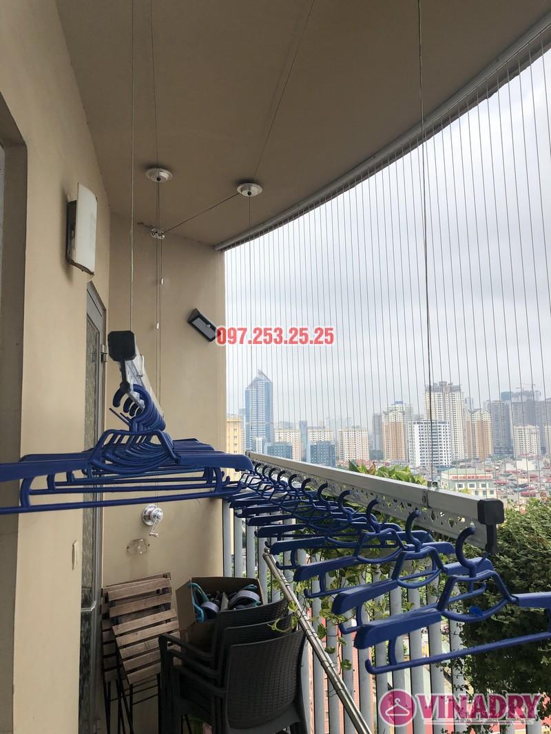 Lắp giàn phơi Hòa Phát Star nhà anh Minh, căn 1610, tòa chung cư Skycity 88 Láng Hạ-04