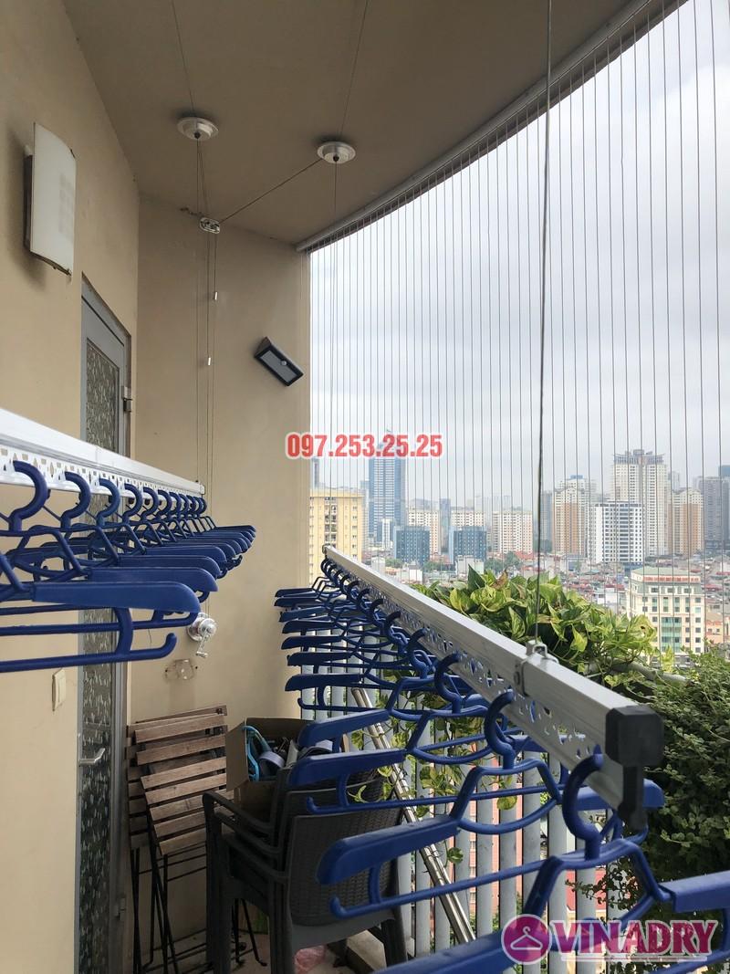 Lắp giàn phơi Hòa Phát Star nhà anh Minh, căn 1610, tòa chung cư Skycity 88 Láng Hạ-05