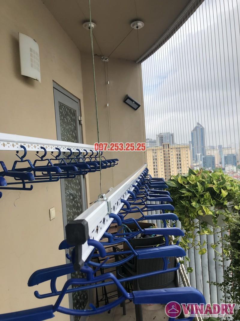 Lắp giàn phơi Hòa Phát Star nhà anh Minh, căn 1610, tòa chung cư Skycity 88 Láng Hạ-08