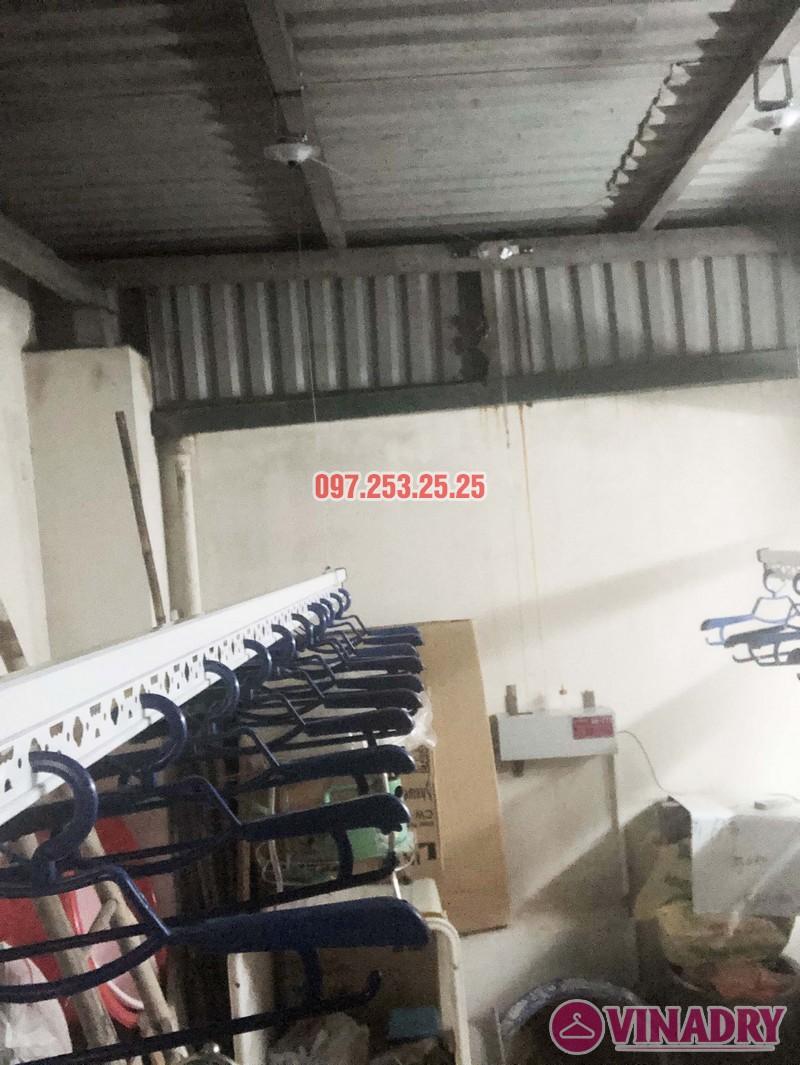 Lắp giàn phơi điện tự động nhà anh Thành, ngõ 54 Tôn Thất Tùng, Đống Đa, Hà Nội - 01