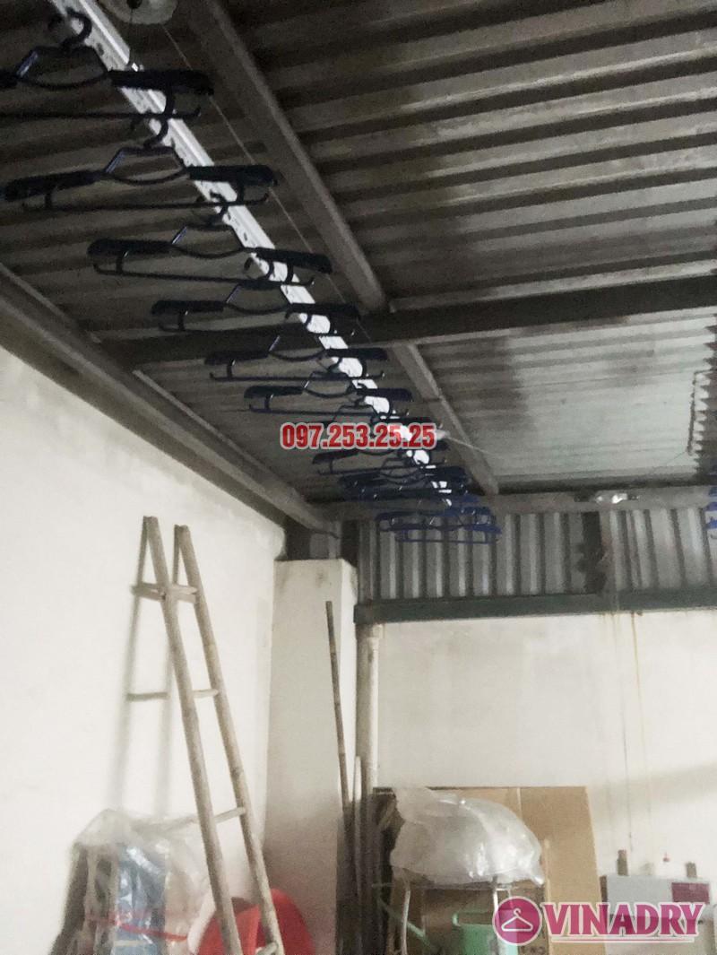 Lắp giàn phơi điện tự động nhà anh Thành, ngõ 54 Tôn Thất Tùng, Đống Đa, Hà Nội - 04