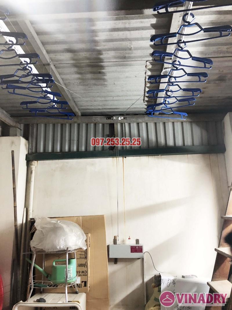 Lắp giàn phơi điện tự động nhà anh Thành, ngõ 54 Tôn Thất Tùng, Đống Đa, Hà Nội - 06