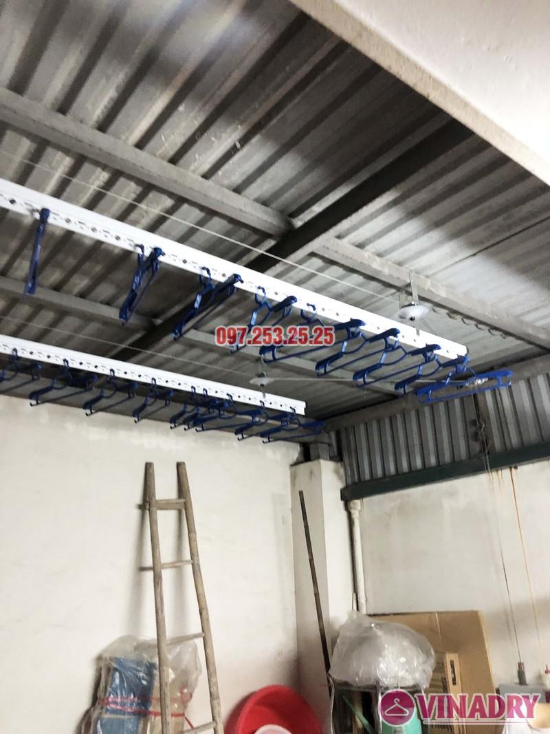 Lắp giàn phơi điện tự động nhà anh Thành, ngõ 54 Tôn Thất Tùng, Đống Đa, Hà Nội - 07