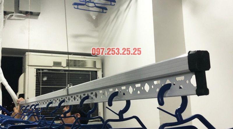 Lắp giàn phơi thông minh Hòa Phát nhà anh Tài, căn 304, CT2 chung cư 789 Xuân Đỉnh - 01