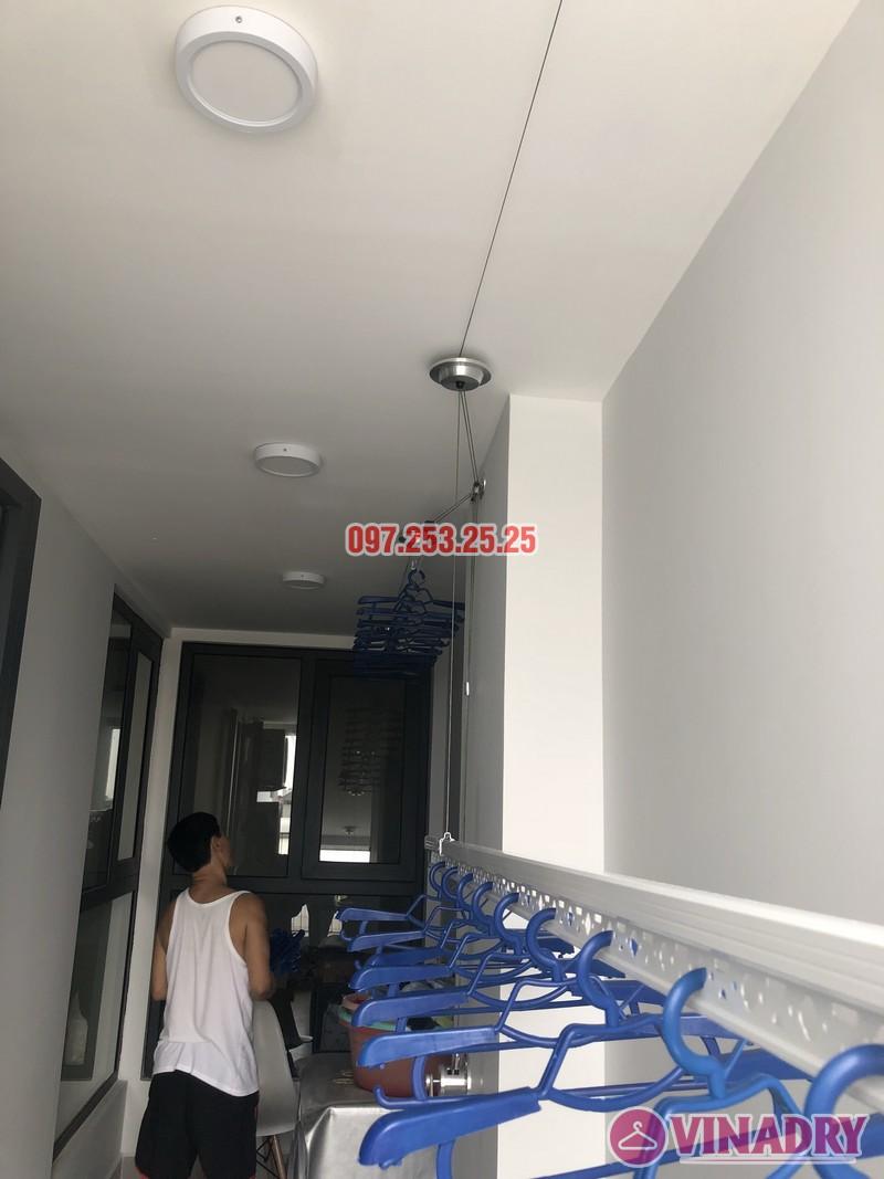 Lắp giàn phơi Long Biên nhà anh Yên, căn 310 tòa A chung cư Northern Diamond - 03